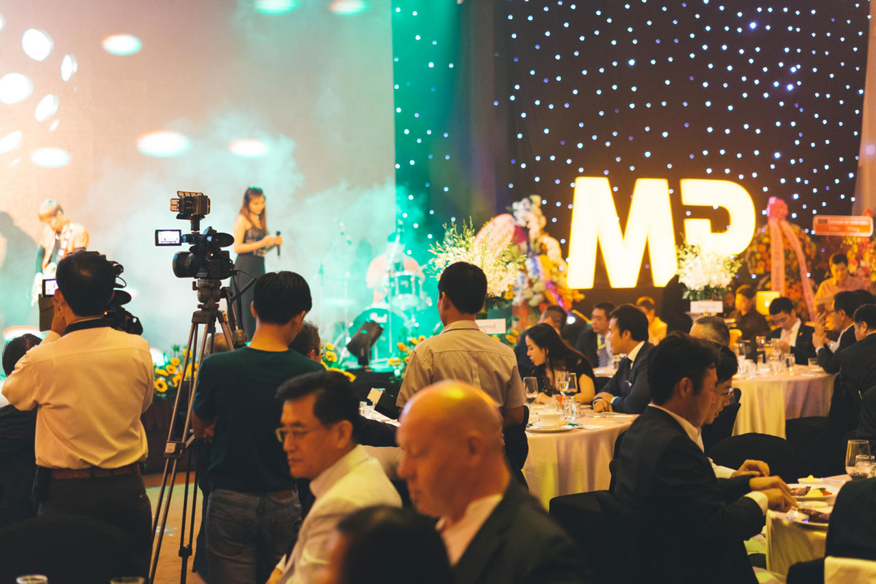 Live music performance at event