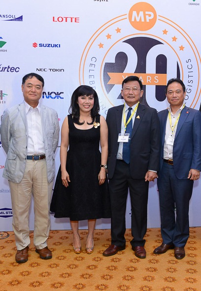 Chairperson of JBAH, Ms. Minh Phuong, CEO of Vissan, CEO of Esuhai  (left to right)