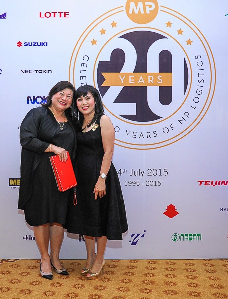 Singapore Consul General and Ms. Minh Phuong